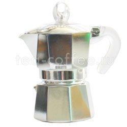 Гейзерная кофеварка Bialetti Moka Glossy 3 порции (120 мл)