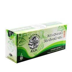 Чай Черный Дракон Молочный зеленый чай 25 пакетиков