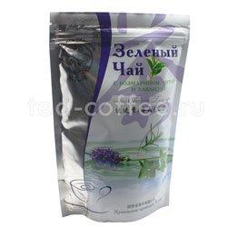 Чай Черный Дракон зеленый с розмарином, мятой и лавандой 100 гр