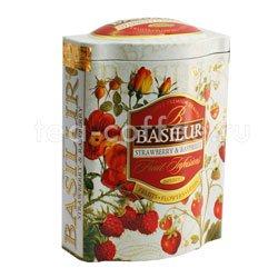 Чай Basilur Фруктовое вдохновение Клубника и Малина 100 гр