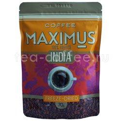 Кофе Maximums Растворимый India 70 гр (Мягкая упаковка)