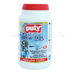 Средство для чистки всех типов брюеров фильтровальных кофеварок и термосов-накопителей в таблетках PULY  BREW TABS , 120 шт.х4г