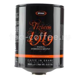 Кофе Bristot в зернах Tiziano 1919 3 кг
