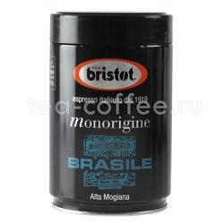 Кофе Bristot в зернах Brasile 250 гр