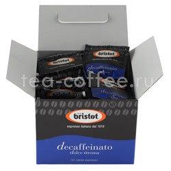Кофе Bristot в чалдах Decaffeinato