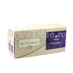 Чай Belvedere Ассам Пирамидки 3,5 гр 17 шт