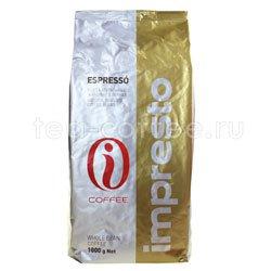 Кофе Impresto в зернах Espresso 1 кг