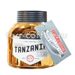 Кофе Сafe Creme растворимый Tanzania 100 гр