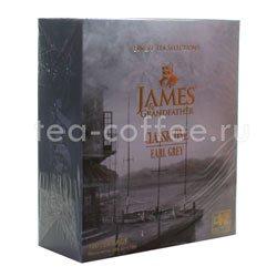 Чай James Grandfather BTEGDCS&T. Черный, Бергамот Пакетик, 100 шт