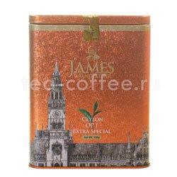 Чай James Grandfather OP1. Черный, ж.б. 150 гр