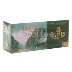 Чай James Grandfather Greentea DCS&T. Зеленый, пакет. 25 шт.