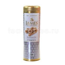 Чай James Grandfather Корица. Черный, ж.б. 100 гр