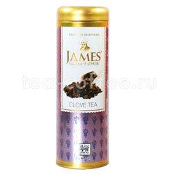 Чай James Grandfather Гвоздика. Черный, ж.б. 100 гр