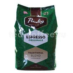Кофе Paulig Espresso Originale в зёрнах 1 кг