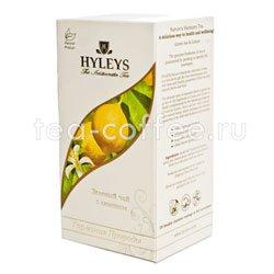 Чай Hyleys Гармония Природы Суприм зеленый с лимоном (25 пак 1,5 гр) Россия