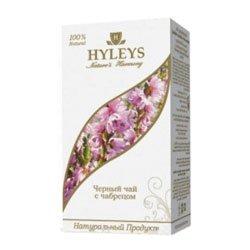 Чай Hyleys Гармония Природы Суприм черный с чабрецом 100 гр