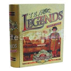 Чай Basilur Чайная книга Чайные легенды Лондонский Тауэр 100 гр