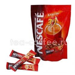 Кофе Nescafe растворимый 3 в 1 Карамель 20 шт по 20 гр
