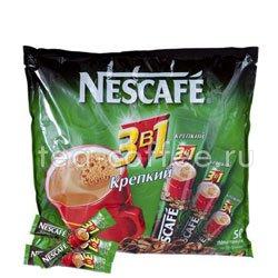 Кофе Nescafe растворимый 3 в 1 Крепкий 2014 50 шт по 16 гр
