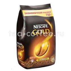 Кофе Nescafe растворимый Gold 750 гр