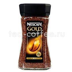 Кофе Nescafe растворимый Gold Крепкий 95 гр