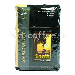 Кофе Блюз в зернах Colombia Supremo 1 кг