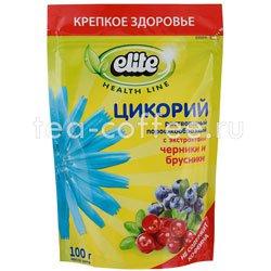 Цикорий Elite растворимый черника и брусника 100 гр