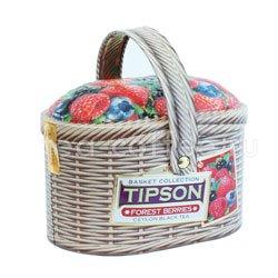 Чай Tipson Basket Forest berries/Лукошко Лесные ягоды 100 гр