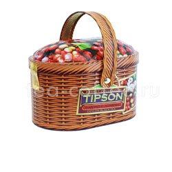 Чай Tipson Basket Cranberries & Lingon berries 100 гр/Лукошко Клюква и брусника 100 гр