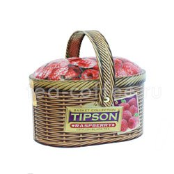 Чай Tipson Basket Raspberry/Лукошко Малина ж.б.100 гр