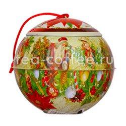 Новогодний металлический шар Китайский жасмин