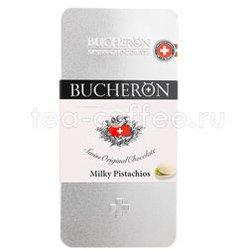 Шоколад Bucheron молочный с фисташками 100 гр