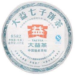 Пуэр блин TaeTea 8582 357 г (шен)