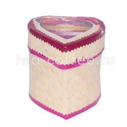 Чай Tea Tang Сердце плетеная шкатулка 100 гр