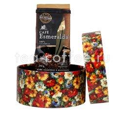 Подарочный набор в круглой коробке (кофе молотый Cafe Esmeralda 250 гр)