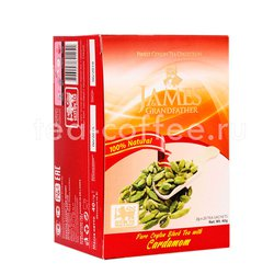 Чай James Grandfather Cardamon черный в пакетиках