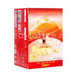 Чай James Grandfather Ginger черный в пакетиках