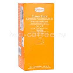 Чай Ronnefeldt Caramel Peach BIO / Карамельный персик в пакетиках 25 шт.х 2.5 гр