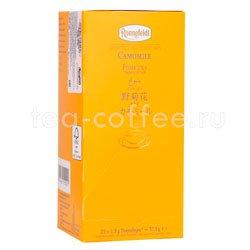 Чай Ronnefeldt Camomile / Ромашка аптечная в пакетиках 25 шт.х 2.5 гр