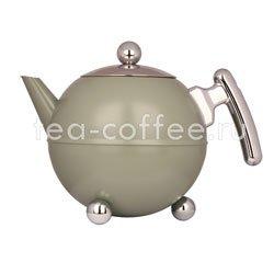 Чайник Duet Bella Ronde 7304 GC заварочный с двойными стенками 1.2 л (салатовый)