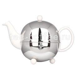 Чайник Cosy 1301 W заварочный 0,9 л (белый)