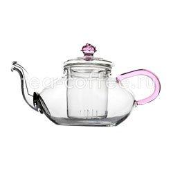 Чайник стеклянный Миндаль низкий 500 мл
