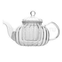 Чайник стеклянный Лилия 600мл Е-023