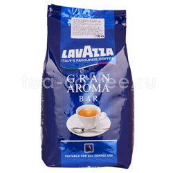 Кофе Lavazza в зернах Gran Aroma Bar 1 кг