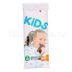 Шоколад Bucheron Kids темный миндаль с апельсином 50 гр
