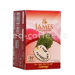 Чай James Grandfather Soursop черный в пакетиках