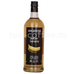 Сироп Argento Желтый Банан 1 литр Россия