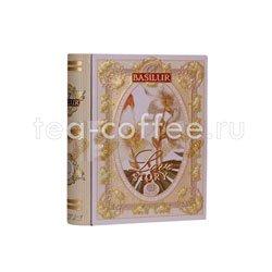 Чай Basilur Чайная книга История Любви мини Том 3