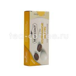 Кофейные зерна Marcony в белом шоколаде 25 гр