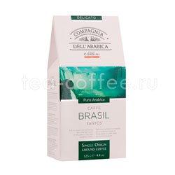 Кофе Compagnia Dell`Arabica молотый Brasil Santos 125 гр